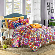Chic Home Mumbai New 6-Pc Twin Comforter Set
