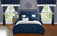 Vixen 24-Pc King Comforter Set
