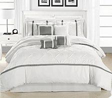 Chic Home Vermont 12-Pc Queen Comforter Set