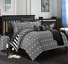 Chic Home Paris 8-Pc Twin X-Long Comforter Set