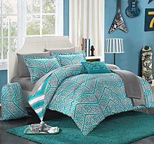 Chic Home Laredo 10-Pc Full Comforter Set