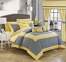 Chic Home Ritz 20-Pc Queen Comforter Set