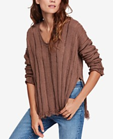 2606aa72674 Free People Stormy Fuzzy Cowl-Neck Sweater   Reviews - Sweaters ...