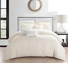 Chic Home Hadassah 5-Pc Twin Comforter Set