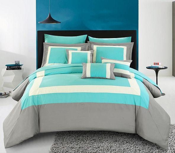 Chic Home Duke 10-Pc King Comforter Set