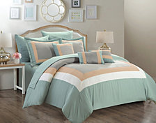 Chic Home Duke 10-Pc Queen Comforter Set