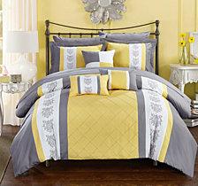 Chic Home Clayton 10-Pc Queen Comforter Set