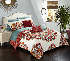 Chic Home Aberdeen 10-Pc Queen Comforter Set