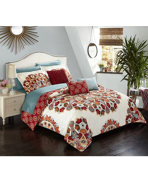Chic Home Aberdeen 10-Pc Queen Comforter Set