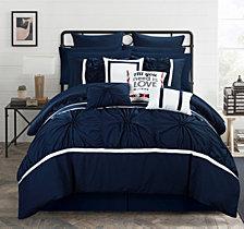 Chic Home Ashville 16-Pc Queen Comforter Set
