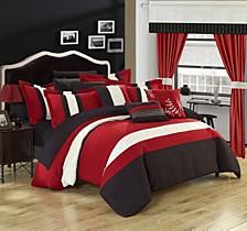 Covington 24-Pc King Comforter Set