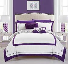 Chic Home Beckham 9-Pc Full Comforter Set