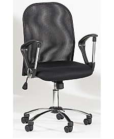 Bella Luna Mesh Back Swivel Tilt Pneumatic Gas Lift Chair