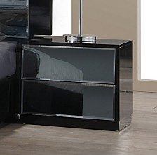 Bella Luna 2 Drawers Night Stand
