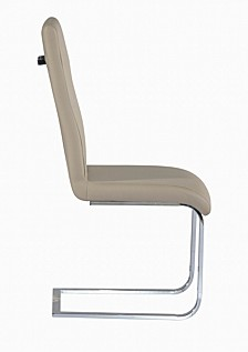 Bella Luna Cantilever Chair with Back Handle (Set of 2)