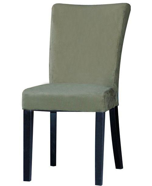 Chintaly Bella Luna Modern Parson Side Chair (Set of 2)