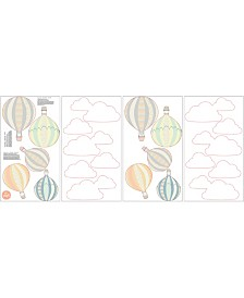 Up, Up And Away Wall Art Kit