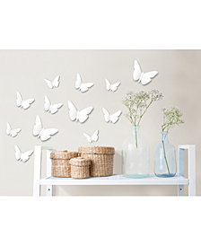 Butterfly Meadow 3d Wall Kit Twinpack