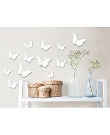 Butterfly Meadow 3d Wall Kit Twinpack
