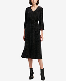 DKNY Textured Maxi Dress, Created for Macy's