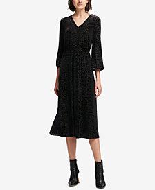 DKNY Textured Maxi Dress, Created for Macy's