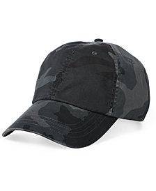 Polo Ralph Lauren Men's Big & Tall Camouflage Twill Baseball Cap