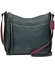 COACH Colorblock Chaise Crossbody
