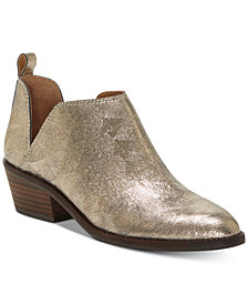 Lucky Brand Fayth Ankle Booties