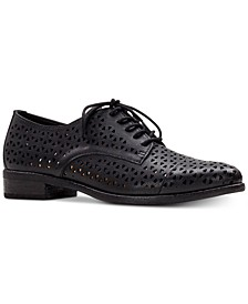 Catania Perforated Oxfords