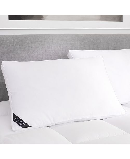 J Queen New York Regency 300 Thread Count Cotton Sateen allergen Barrier Down Alternative Pillow Collection