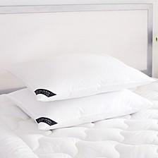 Royalty 233 Thread Count Cotton Allergen Barrier Down Alternative Pillow 2 Pack - King - Soft
