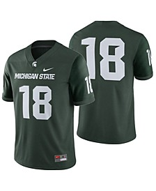 Men's Michigan State Spartans Football Replica Game Jersey