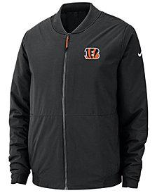 Nike Men's Cincinnati Bengals Bomber Jacket