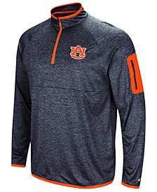 Colosseum Men's Auburn Tigers Amnesia Quarter-Zip Pullover