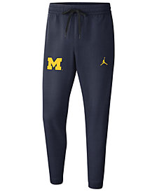 Nike Men's Michigan Wolverines Showtime Tapered Pants