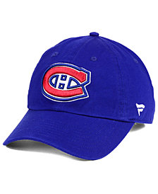 Authentic NHL Headwear Montreal Canadiens Fan Relaxed Adjustable Strapback Cap