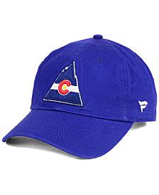 Authentic NHL Headwear Colorado Rockies Fan Relaxed Adjustable Strapback Cap