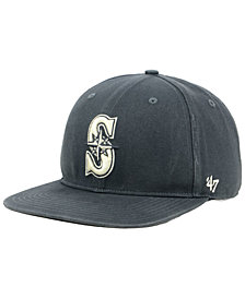 '47 Brand Seattle Mariners Garment Washed Navy Snapback Cap