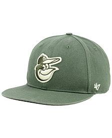 '47 Brand Baltimore Orioles Moss Snapback Cap