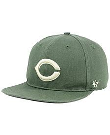 '47 Brand Cincinnati Reds Moss Snapback Cap