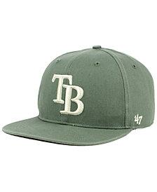'47 Brand Tampa Bay Rays Moss Snapback Cap