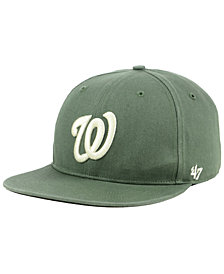 '47 Brand Washington Nationals Moss Snapback Cap