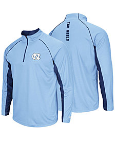 Colosseum Men's North Carolina Tar Heels Rival Quarter-Zip Pullover