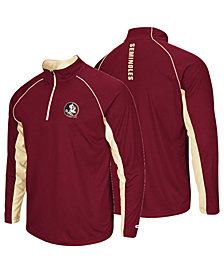 Colosseum Men's Florida State Seminoles Rival Quarter-Zip Pullover