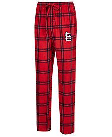 Concepts Sport Men's St. Louis Cardinals Homestretch Flannel Pajama Pants