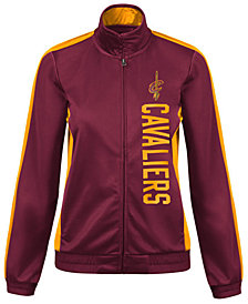 G-III Sports Women's Cleveland Cavaliers Backfield Track Jacket