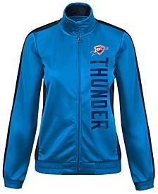 Women's Oklahoma City Thunder Backfield Track Jacket