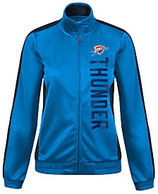 G-III Sports Women's Oklahoma City Thunder Backfield Track Jacket