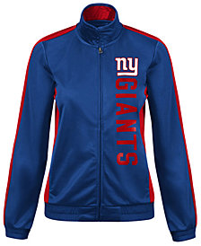 G-III Sports Women's New York Giants Backfield Track Jacket
