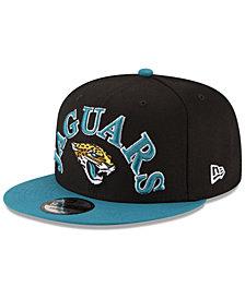 New Era Jacksonville Jaguars Retro Logo 9FIFTY Snapback Cap